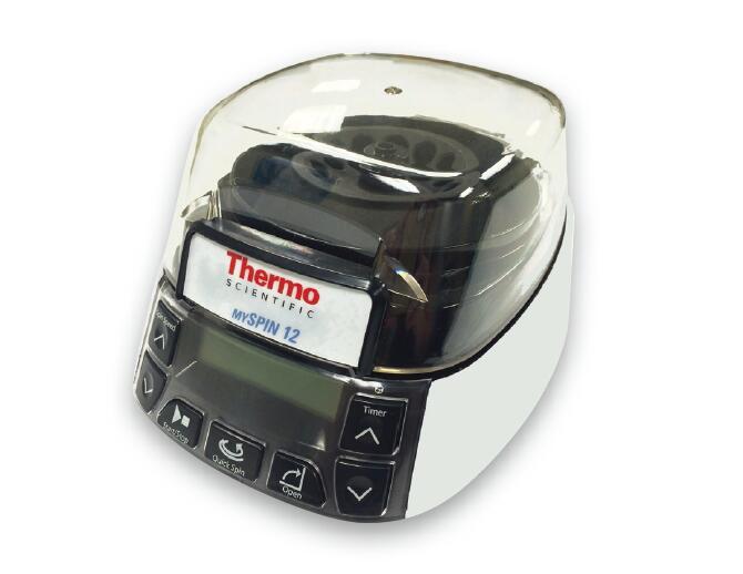 美国热电Thermo Scientific mySPIN 12 迷你型离心机,最高转速:12500rpm,最大容量:12x2ml