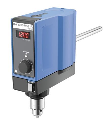 德国IKA EUROSTAR 100 digital欧洲之星100数显型悬臂搅拌器