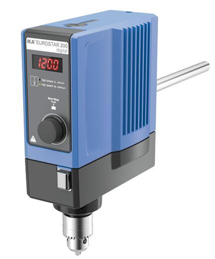 德国IKA EUROSTAR 200 digital欧洲之星200数显型悬臂搅拌器