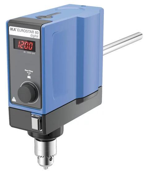 德国IKA EUROSTAR 60 digital欧洲之星60数显型悬臂搅拌器